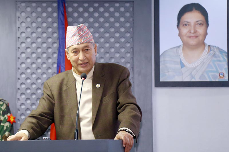 अर्थमन्त्री डा.युवराज खतिवडाले राजीनामा दिए